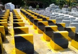 水泥隔离墩起到的作用与重要性