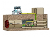 市政管道施工机械系列--(中国铁建)顶管机